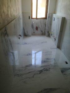 Pavimento e rivestimento gres effetto marmo 60x120 rettificato.